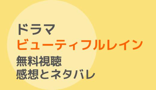 ドラマ【ビューティフルレイン】1話~最終回を無料視聴!ネタバレ感想もチェック!
